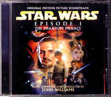 STAR WAR Episode 1 The Phantom Menace JOHN WILLIAMS Die dunkle Bedrohung OST CD