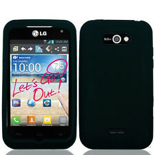 Silicone Skin Gel Cover Case for LG Motion 4G MS770 / Optimus Regard LW770 Phone