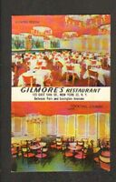 NEW-YORK (U.S.A.) GILMORE'S RESTAURANT / Intérieur