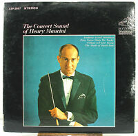 """12"""" 33 RPM STEREO LP - RCA VICTOR LSP-2897 - THE CONCERT SOUND OF HENRY MANCINI"""
