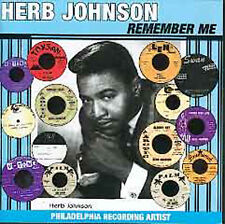 Herb Johnson-Remember Me-Rare Philly R&B/Soul/Funk CD-60s-70s R&B Philly Soul