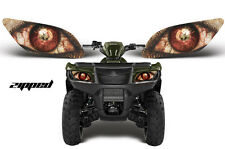 AMR RACING HEAD LIGHT EYES GRAPHIC DECAL SUZUKI KING QUAD ATV PARTS - ZIPPED