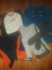 Youth Under Armour Athletic Clothes Lot of 5 Size Small/Medium/Xl