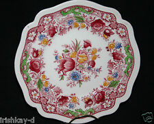 "VINTAGE   JOHNSON BROS.  TRANSFERWARE ""DORCHESTER"" PATTERN 8"" BREAD/SALAD PLATE"