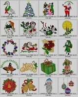 3,100 CHRISTMAS DESIGNS BROTHER EMBROIDERY MACHINE DESIGNS COLLECTION ON CD