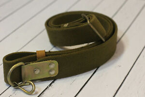 Soviet Sling Red Army Authentic Canvas & Case Hardened Fittings OTK Original