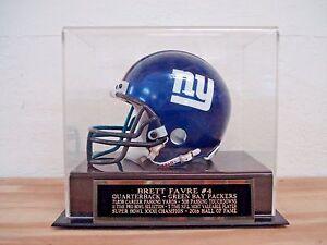Brett Favre Football Mini Helmet Case For Your Packers Autographed Mini Helmet