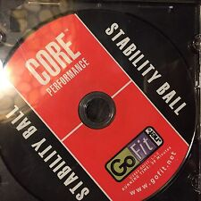 Go Fit Ab Ball Abball Core Work Out Yoga Gym Exercise CD Only Work Out Abb Barr
