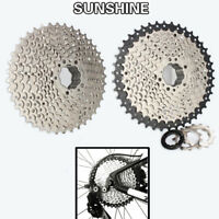 SUNSHINE 10 Speed 11-40T/11-42T MTB Bike Cassette Shimano SRAM Flywheel Adapter