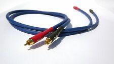 Tellurium Q Blue RCA Interconnects 1.0m Pair RCA - RCA