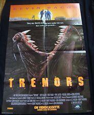 TREMORS movie poster KEVIN BACON REBA MCENTIRE  original  video promo