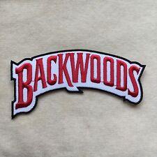 BACKWOODS LOGO EMBROIDERY IRON ON PATCH BADGE