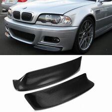Paar Carbon Stoßstange Frontlippe Flaps Spoiler Splitter für BMW E46 M3 99-06