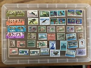 Dominica stamps unchecked collection mint/used (xx530)
