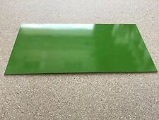 """G10: Toxic Green 0.03""""  6"""" x 12"""" Liner for Wood Working, Knife Making, Bush"""