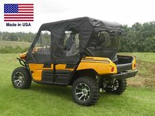 Doors & Rear Window for Kawasaki Teryx 4 - Zip Down Door Windows - Commercial