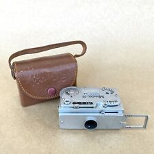Mamiya-16 Super Subminiature Spy Film Camera W/ 25mm 1:3.5 Lens & Case, VINTAGE