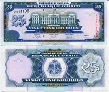 HAITI 25 GOURDE 2014 P 266 NEW SIGN UNC