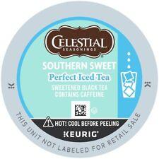 Celestial Seasonings Southern Sweet Perfect Iced Tea keurig k-cups 88 count