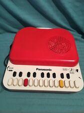 Panasonic Sg-123 Vintage Portable Turntable Record Player Organ