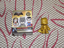 FUNKO GOLD ARMORED BATMAN, MYSTERY MINIS, GAMESTOP EXCLUSIVE BATMAN VS. SUPERMAN