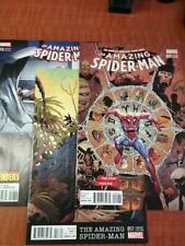 Amazing Spider-Man  #9,17 and 18 Variant Covers Marvel Comics 2016 NM+ 9.6