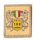 CALCIO Figurina Stadio ed .BEA 1948-49 MASCOTTE SCUDETTO (MODENA) VALE 100