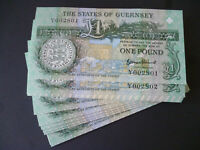 A STATES OF GUERNSEY £1 ONE POUND NOTE IN UNCIRCULATED MINT CONDITION BANKNOTE.