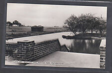 BOATING LAKE, PURSTON PARK,FEATHERSTONE..OLD  REAL PHOTO POSTCARD.LOT.1