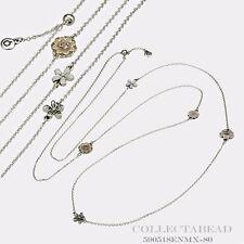 Authentic Pandora Sterling Silver Enamel Poetic Blooms Necklace 590518ENMX-80