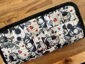 Harvey's Mickey Loves Minnie Clutch Wallet