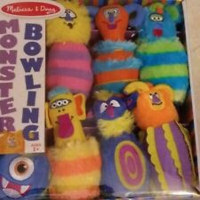 Melissa & Doug Monster Bowling Set - 8 Pieces - NEW