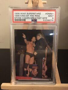 1998 WWF Superstarz KOTR Stone Cold's Greatest Hitz PSA 9 Mint #Omni1 POP 1
