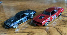 2007 Hot Wheels Mystery Cars '70 Plymouth Barracuda 1:64 Diecast Lot of 2 Loose