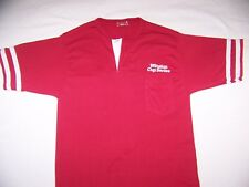NASCAR Men's Medium T-Shirt  Winston Cup Series Red 2 Button slim fit