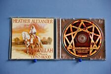 HEATHER ALEXANDER – INSHALLAH – THE MUSIC OF LION'S BLOOD - 16 TRACK 2002 CD