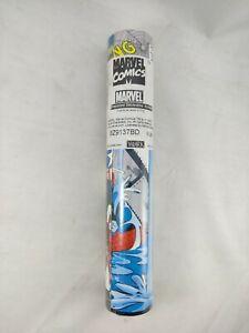 "Marvel Captain America Wallpaper Border Kids Room Wall Decor 5 Yards x9"" Vintage"