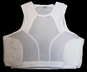 New Hawk White Covert Body Armour Cover Or Stab Vest Cover !COVER ONLY!