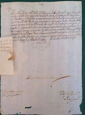 FIRMA REAL, CARLOS II, Villajoyosa, cañones artillería, morabati y maridaje,1693
