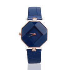 Fashion Women Waterproof Watch Lady Leather Band Analog Quartz Wrist Watch