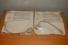 Lot of 2 NOS Vintage Apple Macintosh p/n 590-0341-A Adapter DB9 to DIN8