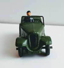 Dinky Toy Military 152C Austin 7 Officers Car    1937 - 1941  Pre War