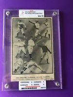 1910 Reach Sports Photo Philadelphia Athletics Graded Mint Condition (Rare)