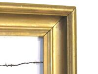 ANTIQUE  GILDED WOOD FRAME FOR PAINTING 17 X 13 1/2 INCH ( e-16)