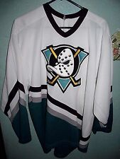 ANAHEIM MIGHTY DUCKS HOCKEY JERSEY SIZE ADULT LARGE CCM