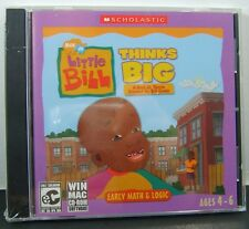 Little Bill Thinks Big by Scholastic CD Ages 4-6 PC Game