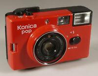 PRL) KONICA POP HEXANON 36 mm FOTOCAMERA COMPATTA COLLEZIONE VINTAGE COLLECTION
