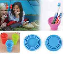Portable Silicone Telescopic Drinking Mug Travel Camping Collapsible Folding Cup