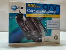 Vintage AT&T Cordless Telephone 900 MHz Model 9320 Open Box, Complete