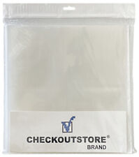 """1000 COS Clear Plastic CPP for 12"""" Vinyl 33 RPM Records (Outer Sleeves)"""